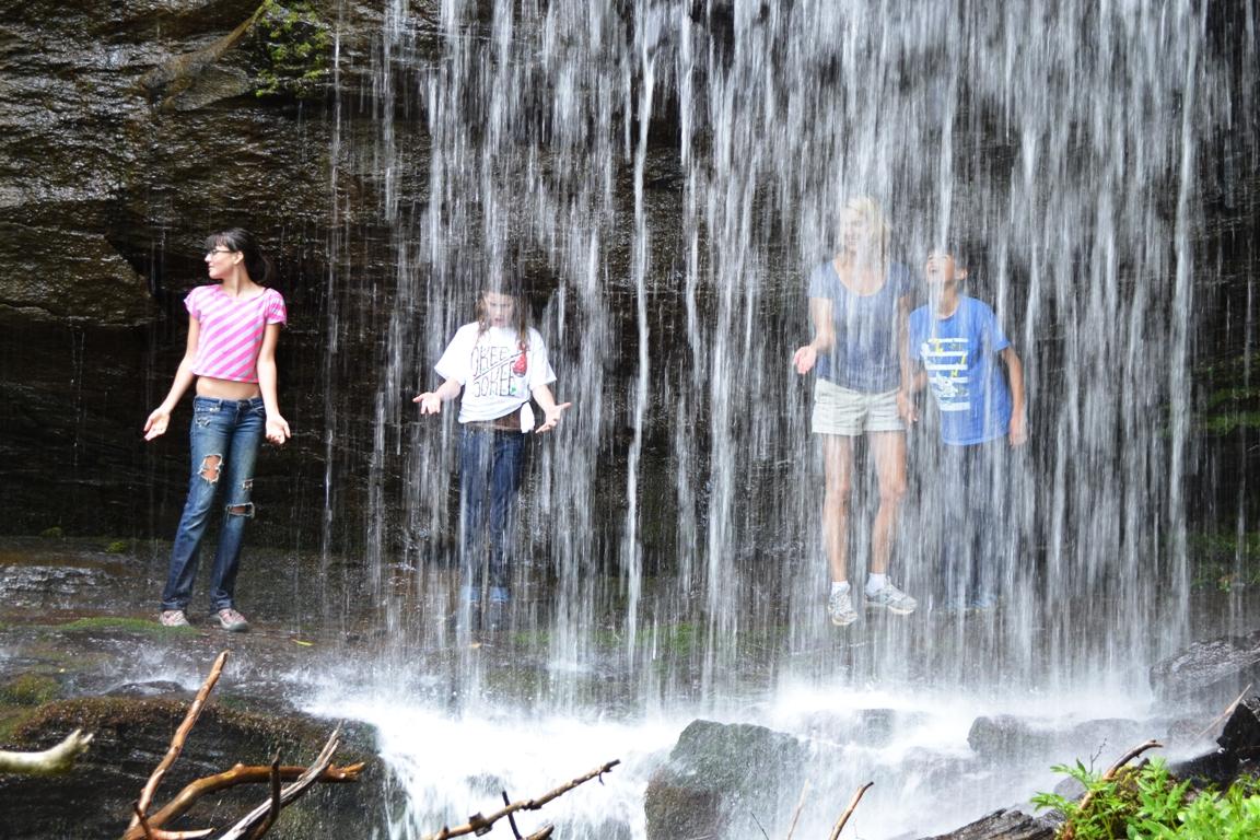 Walking Under A Waterfall Gypsy Jema