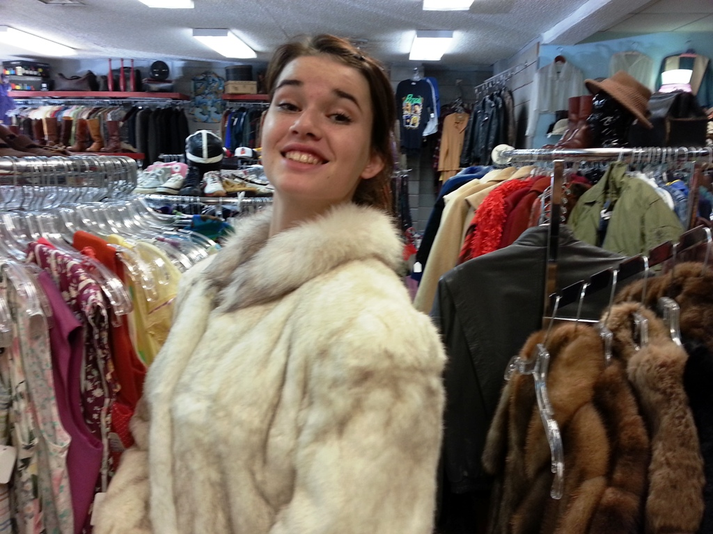 Fur Coat Shopping